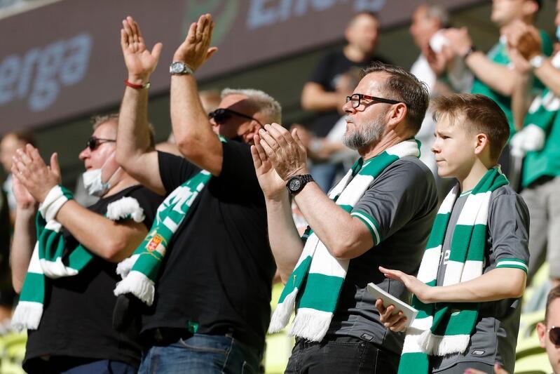 Po kilku miesięcznej przerwie na Stadionie Energa Gdańsk pojawili się kibice. Było ich dokładnie 3 967