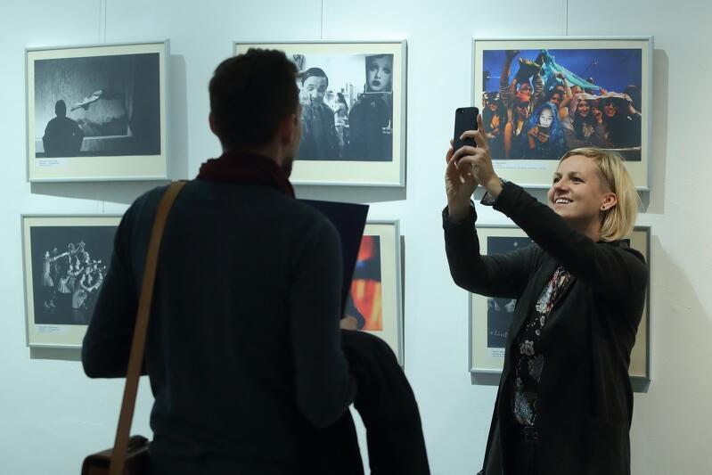 Renata Dąbrowska podczas rozdania nagród Gdańsk Press Photo 2017
