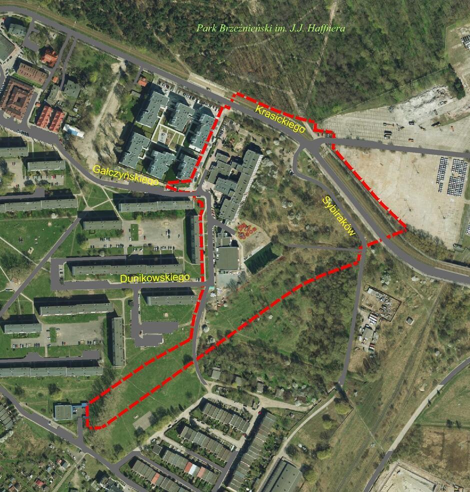 Ten obszar Brzeźna objęty zostanie nowym planem miejscowym