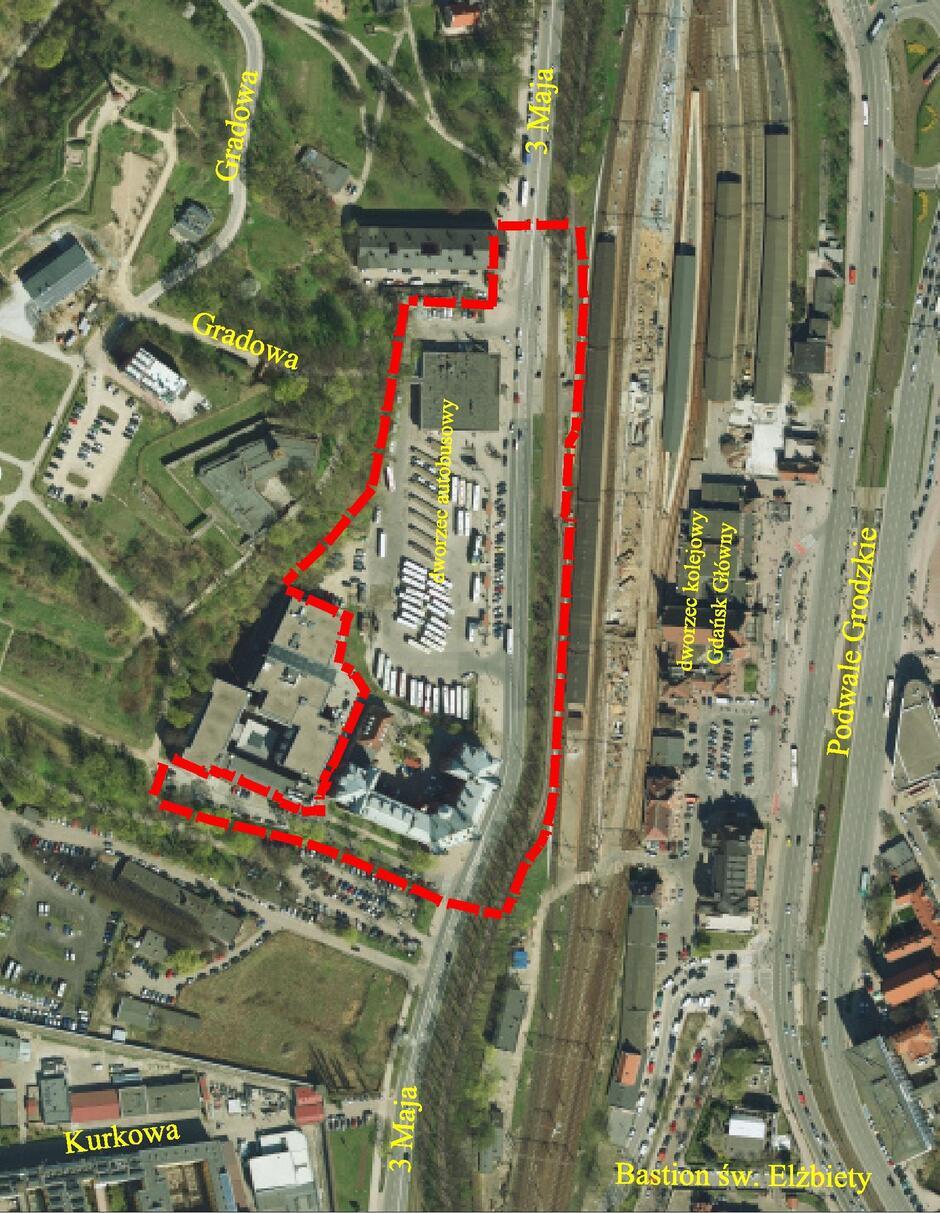 Szykują się zmiany dla terenu dworca autobusowego w śródmieściu