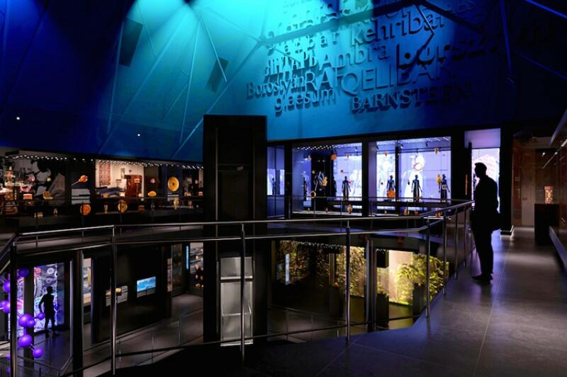 Wielki Młyn - wizualizacja widoku ogólnego na poziomie II w nowym Muzeum Bursztynu. To wnętrze i w takim kształcie ma być dostępne dla zwiedzających pod koniec czerwca 2021 roku