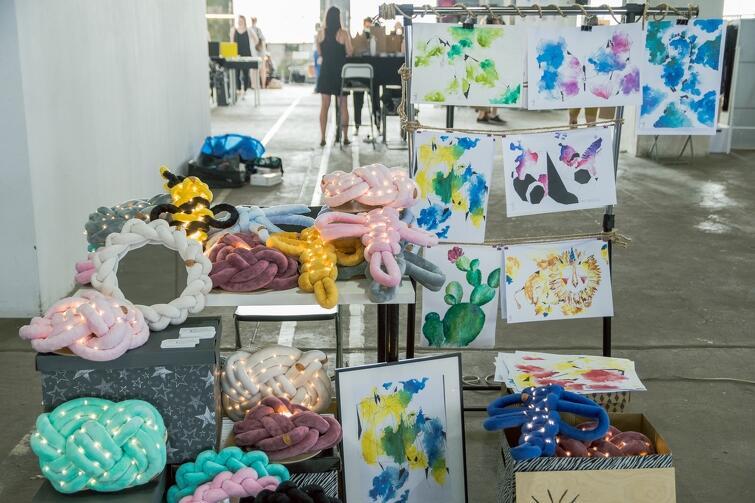 Podczas czerwcowej edycji targów wystawiło się blisko 50 rzemieślników i artystów