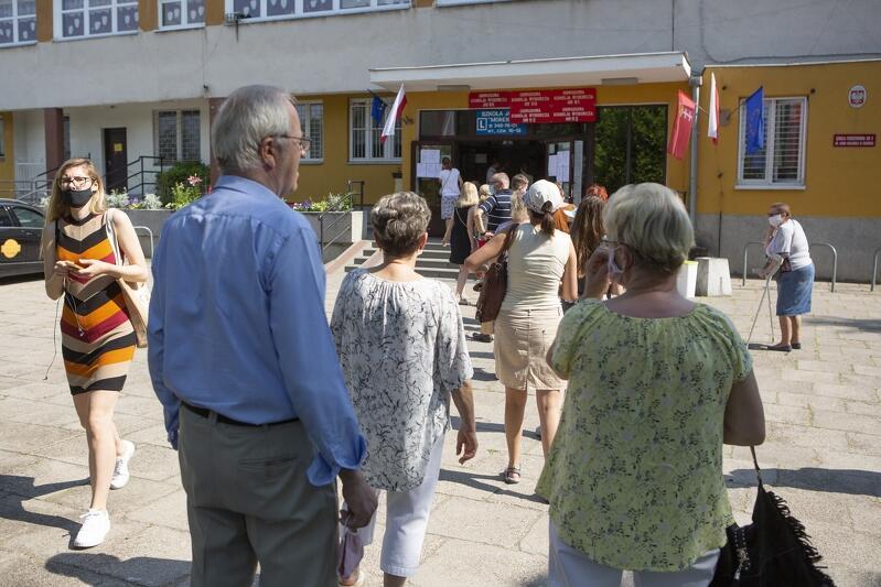 Wybory prezydenta RP w Gdańsku 2020 r., pierwsza tura - 28 czerwca