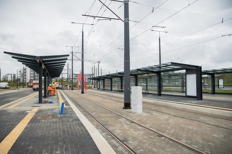 Pierwszy tramwaj rozpocznie kursowanie na pętli 'Ujeścisko'