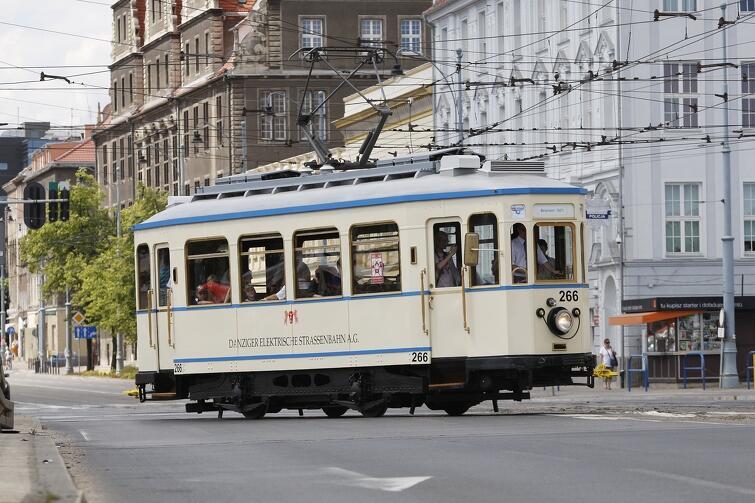 Tramwaj Bergmann z 1927 roku symbolicznie otworzy zmodernizowane torowisko na Stogach