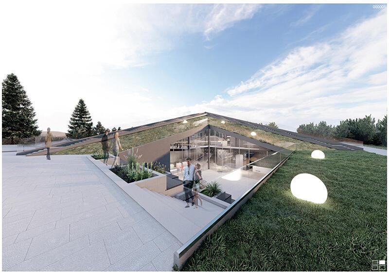 Koncepcja urbanistyczno-architektoniczna kąpieliska morskiego Stogi, druga nagroda