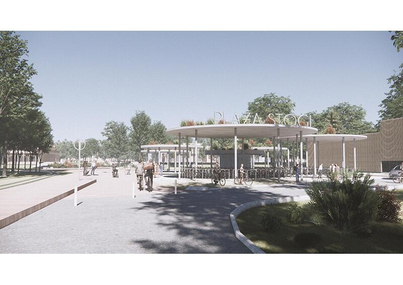 Koncepcja urbanistyczno-architektoniczna kąpieliska morskiego Stogi, pierwsza nagroda