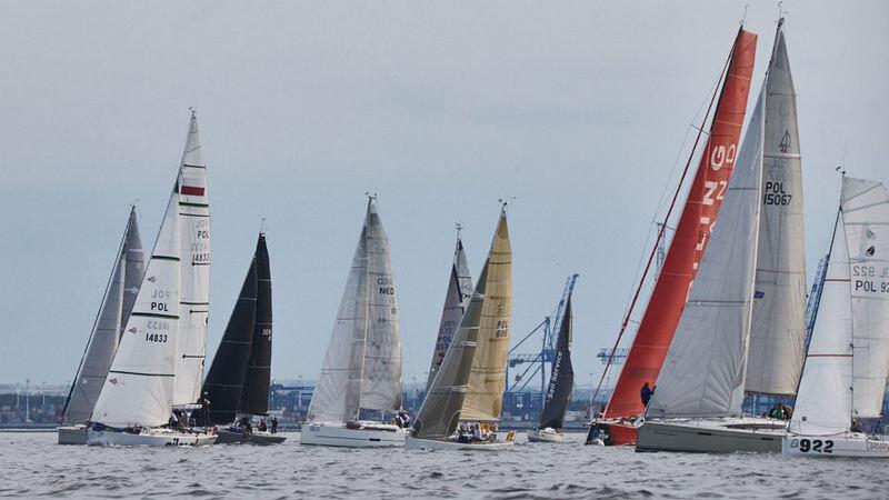 W wyścigu Orvaldi B8 Race ścigały się jachty pełnomorskie