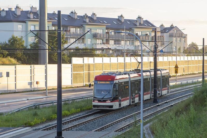 30 czerwca 2020 r. tramwaje oficjalnie rozpoczęły kursowanie w al. Pawła Adamowicza