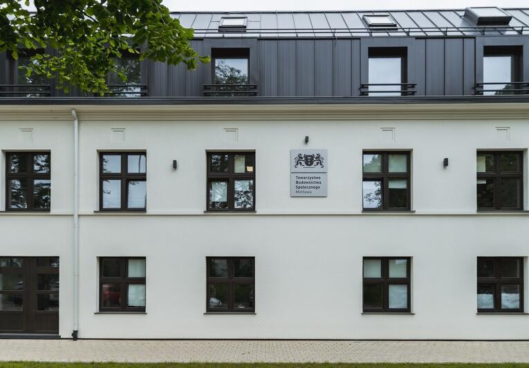 Budynek C kompleksu zarządzanego przez Gdańską Fundację Przedsiębiorczości na Dolnym Mieście, ul. Reduta Wyskok 4
