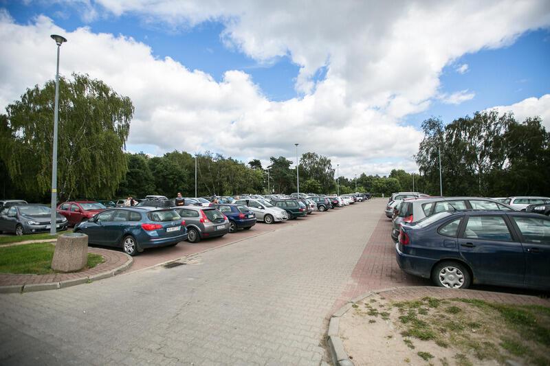 Parking nadmorski przy ul. Czarny Dwór