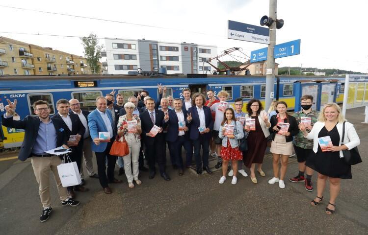 Samorządowcy już na stacji Rumia