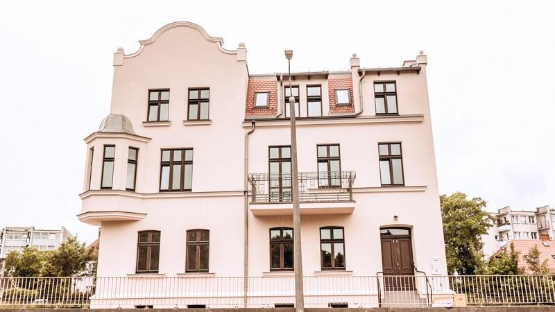Budynek przy Trakcie św Wojciecha 58