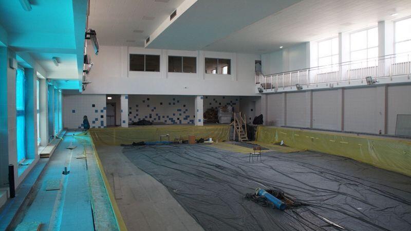Tak wygląda basen przy ul. Reja. Po wakacjach ma być gotowy do użytku