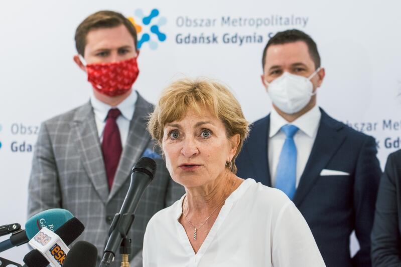 Wójt gminy Pruszcz Gdański Magdalena Kołodziejczak