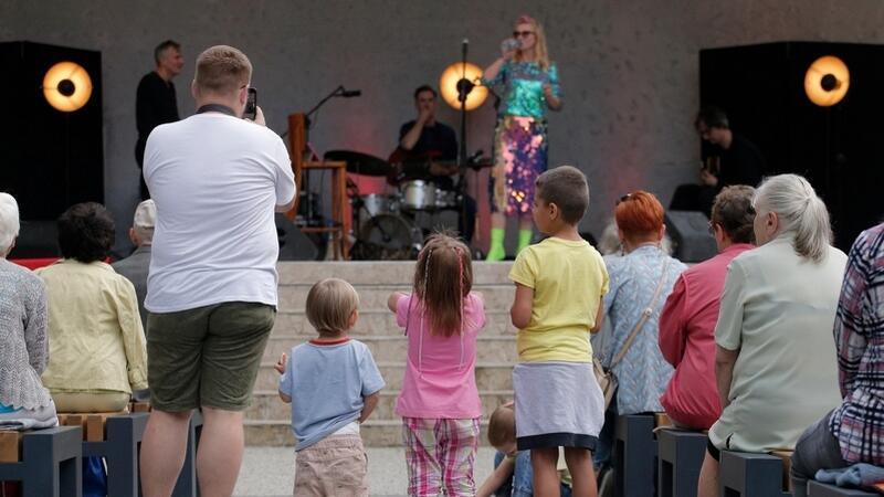 Koncert w Parku Oruńskim