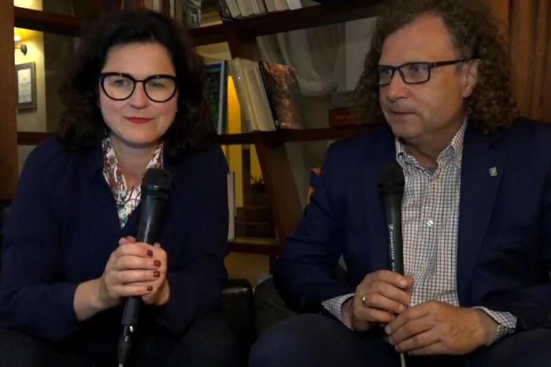 Prezydent Gdańska Aleksandra Dulkiewicz co tydzień spotyka się z mieszkańcami online. W środę, 8 lipca, towarzyszył jej prezydent Sopotu Jacek Karnowski