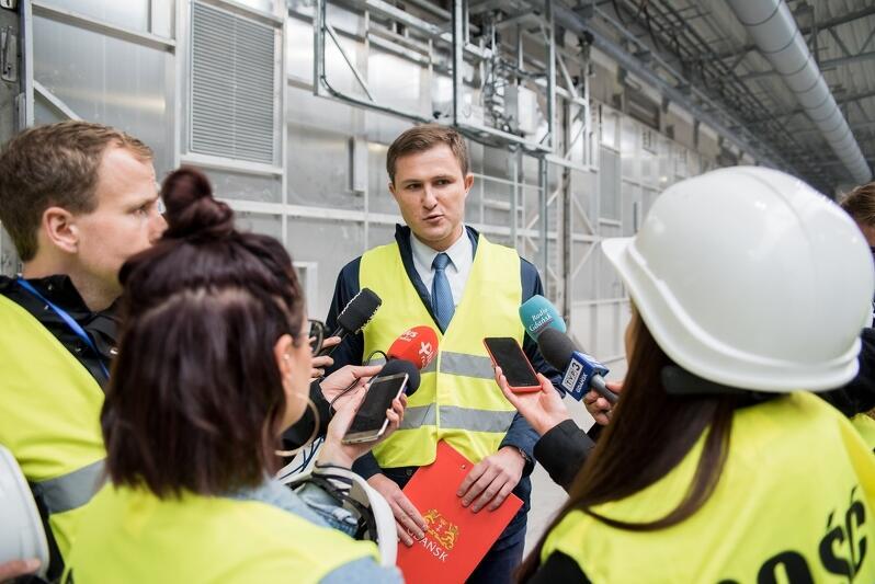 Piotr Grzelak, zastępca prezydenta Gdańska ds. zrównoważonego rozwoju