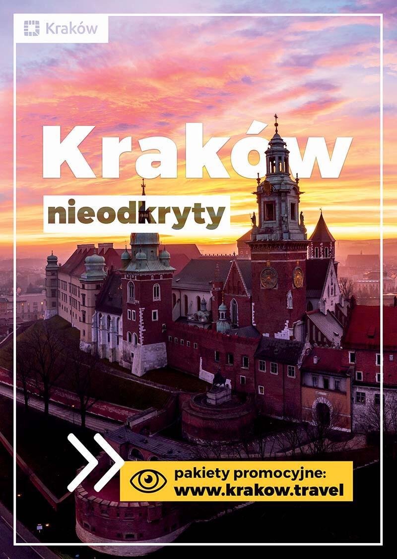 Plakat promocyjny Krakowa, który zobaczymy w Gdańsku