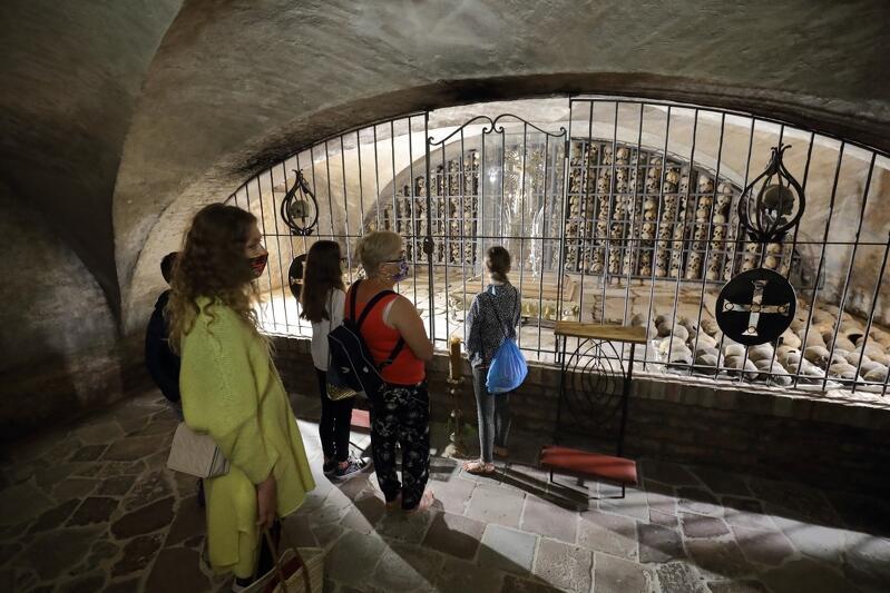 Niedawno odkryta krypta została już udostępniona wiernym i turystom
