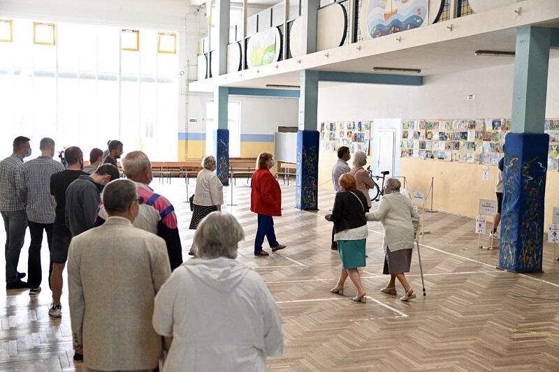 Szkoła Podstawowa nr 8 na Chełmie, II tura wyborów Prezydenta RP, 12 lipca 2020 r.