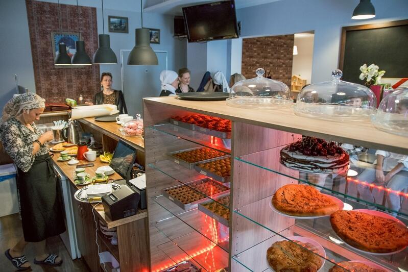W menu są nie tylko specjały znane już z piekarni, ale także dużo więcej dań obiadowych