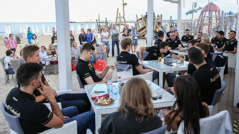 Z kibicami na plaży w Sopocie zespół Trefla spotka się już po raz piąty