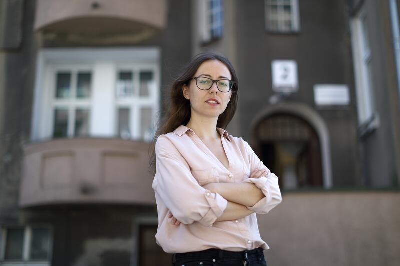 Aleksandra Mosiołek dyrektorka Centrum Praw Kobiet w Gdańsku