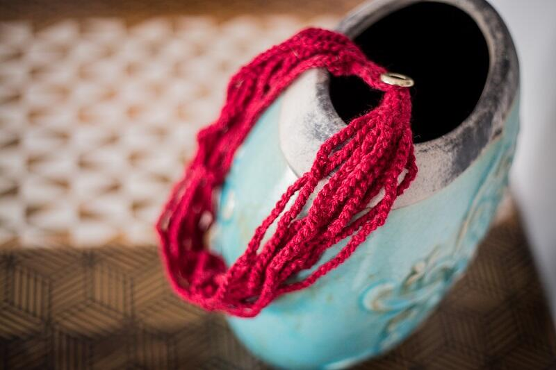 Ręcznie robiony naszyjnik od Ewy Dudy