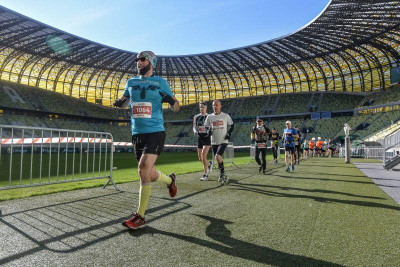 Stadion Energa Gdańsk gościł już biegaczy przy okazji Maratonu Gdańsk