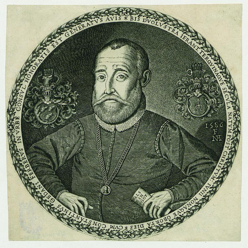 Constantin Ferber (1520 – 1588). Jego imię noszone było przez wielu innych przedstawicieli rodu