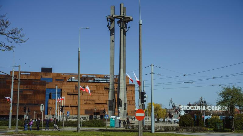 Plac Solidarności w Gdańsku