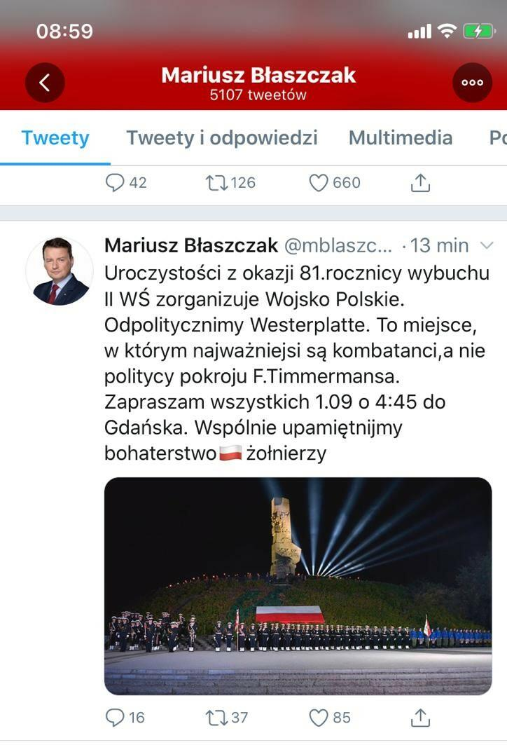 Ta informacja, opublikowana w piątkowy poranek, 24 lipca, zaskoczyła władze Gdańska