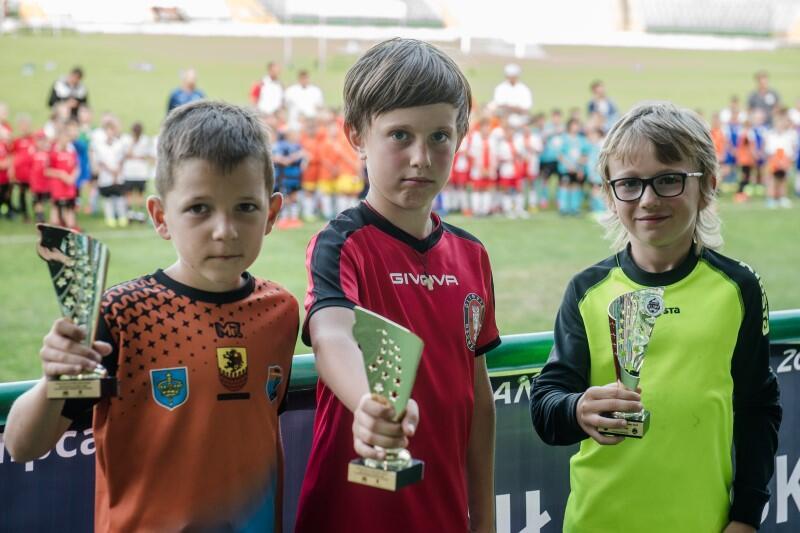 Kto wie, może z tych młodych adeptów futbolu za 10 lat wyrosną profesjonalni zawodnicy? Pierwsze laury już są