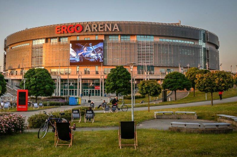 Gdańsko-sopocka hala Ergo Arena znowu otwarta