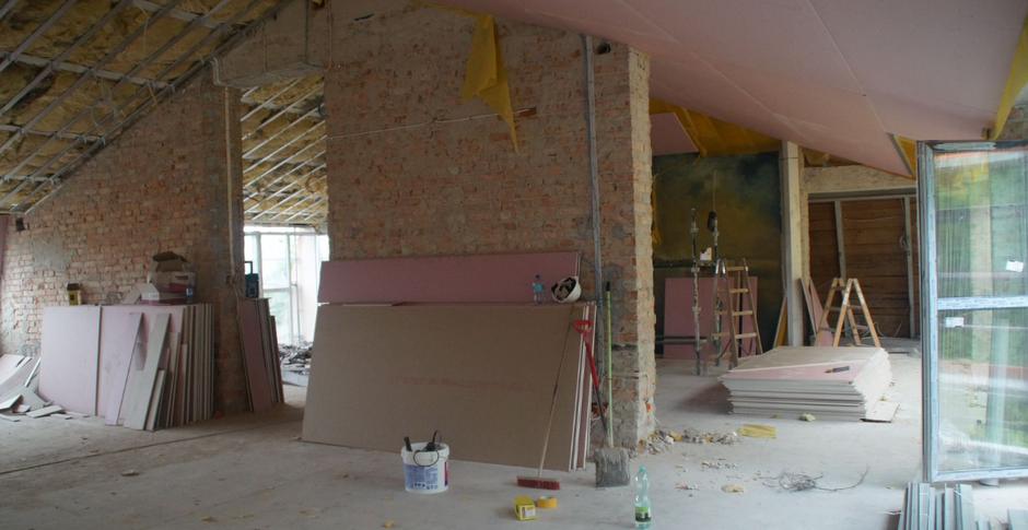 Prace modernizacyjne obejmują m.in. poddasze budynku