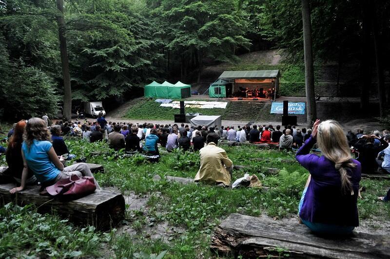 Teatr Leśny we Wrzeszczu to miejsce magiczne samo w sobie...