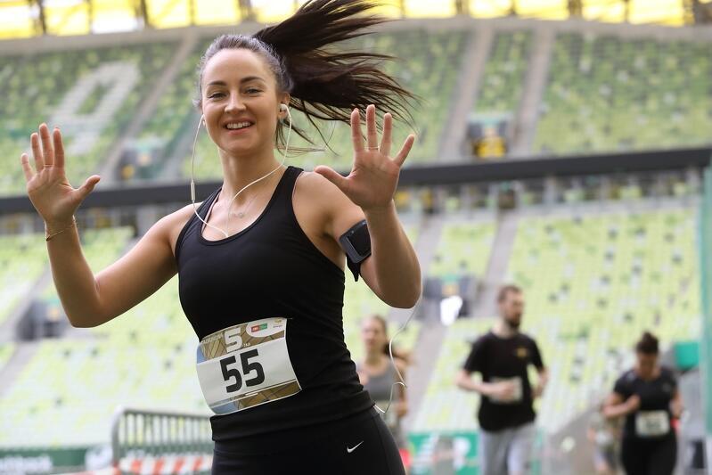 W biegu Stadionowa Piątka rywalizowało 180 osób