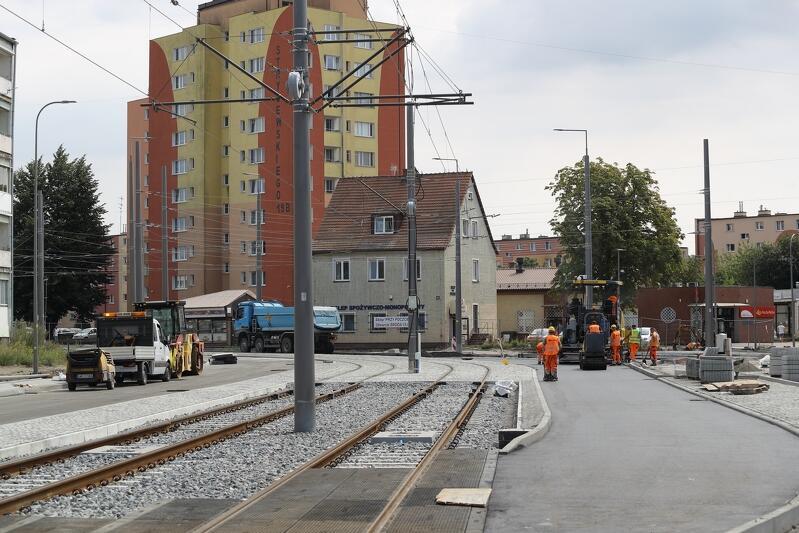 Od 10 sierpnia przejezdne będzie już skrzyżowanie ul. Stryjewskiego z ul. Zimną