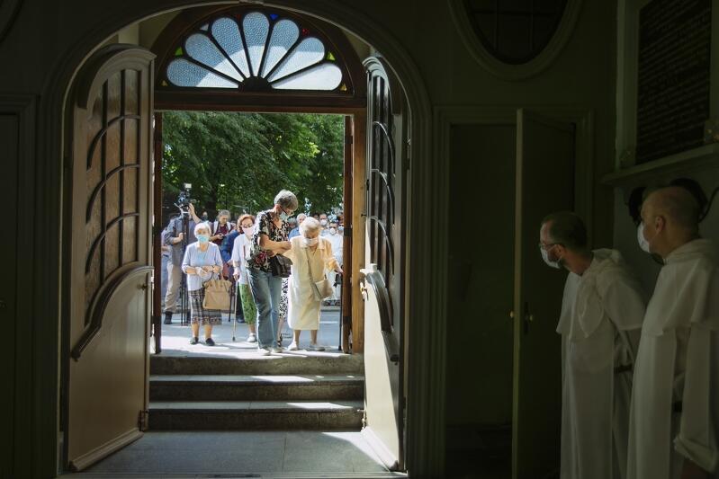 Kościół Św. Mikołaja ponownie otworzył swoje drzwi dla wiernych