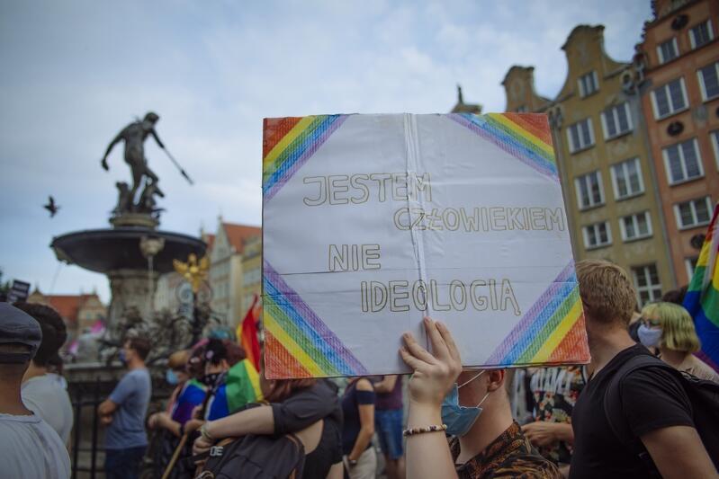 W manifestacji uczestniczyło około 150 osób