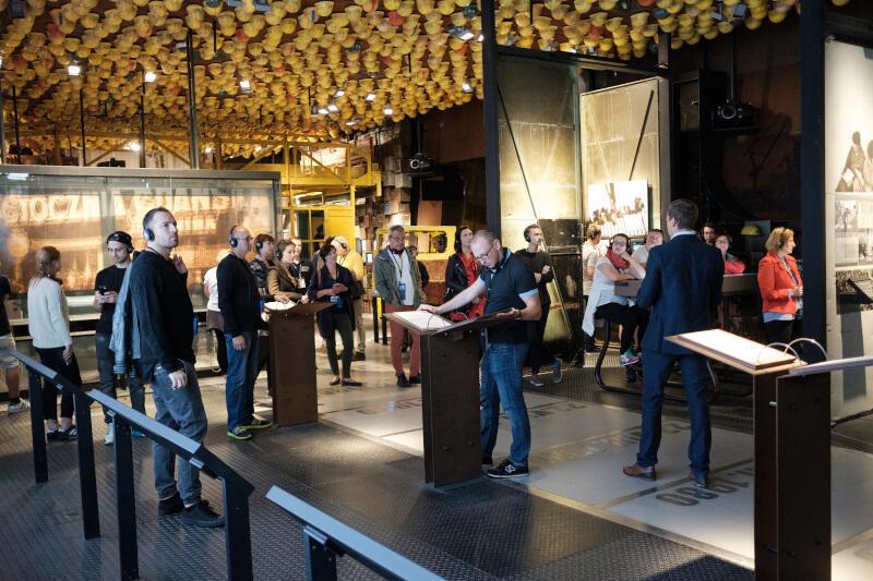 Wystawa stała Europejskiego Centrum Solidarności cieszy się ogromną popularnością wśród odwiedzających z całego świata