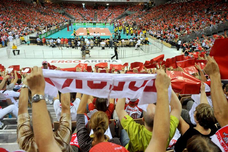 Trybuny podczas meczu otwarcia były zapełnione do ostatniego miejsca. Polscy siatkarze pokonali Brazylijczyków 3:2