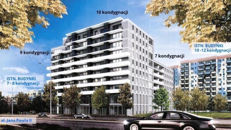 Taki budynek na ponad 100 mieszkań i lokale usługowe firma TUP Property S.A. chce postawić na Zaspie, przy ul. Jana Pawła II nr 20. Właśnie ta inwestycja była jednym z tematów XXVI sesji RMG
