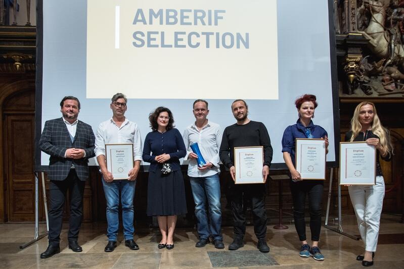 Gala wręczenia nagród Amberif Selection odbyła się w Dworze Artusa
