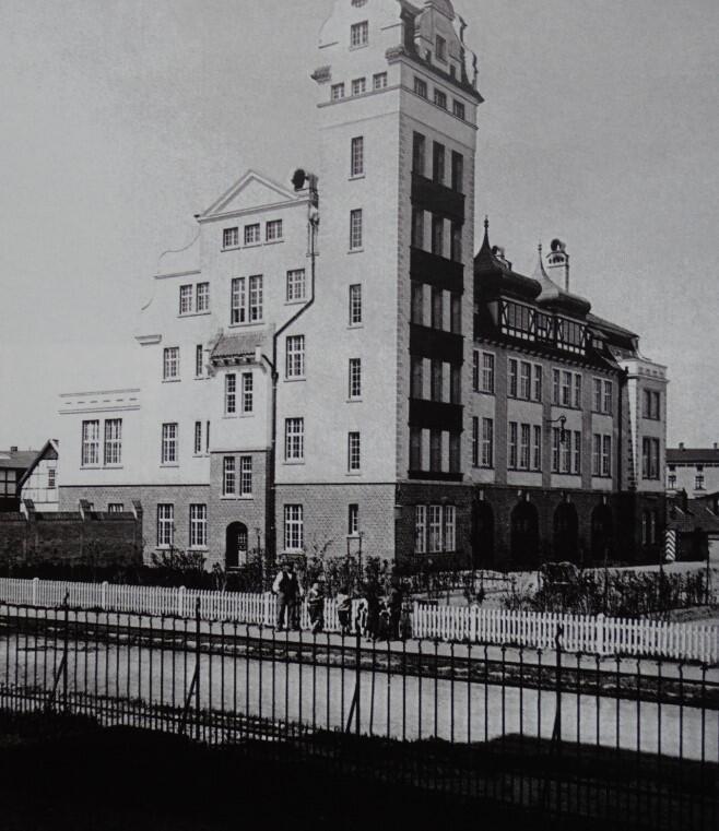 Strażnicę we Wrzeszczu zbudowano w 1909 roku
