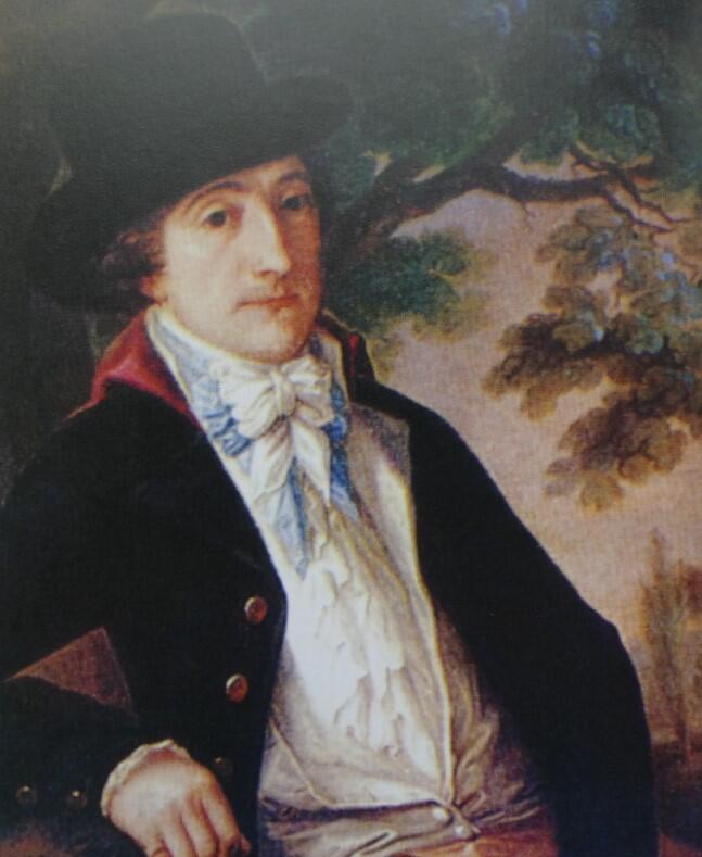 Wojciech Bogusławski na portrecie J. Reychana z 1798 roku