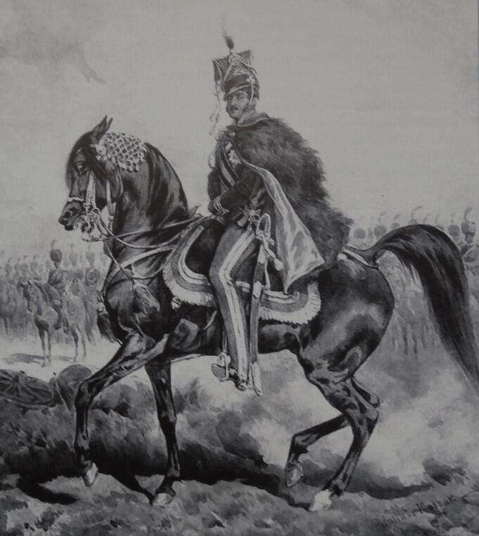 Józef Poniatowski, obraz Juliusza Kossaka
