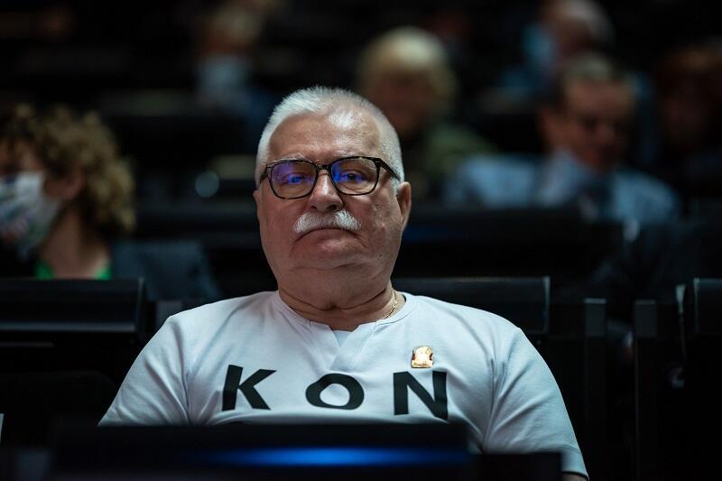 Lech Wałęsa w Europejskim Centrum Solidarności, 31 sierpnia 2020 r.