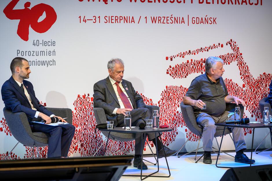 Bogdan Borusewicz: - Dzisiaj odpowiedzialni jesteśmy za to, co się dzieje na Białorusi, za to, czy ludzie dobiją się o tę wolność
